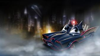 Cars batmobile widescreen wallpaper