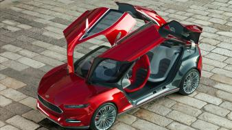 Cars ford vehicles evos concept wallpaper