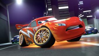 Cars lightning mcqueen widescreen Wallpaper