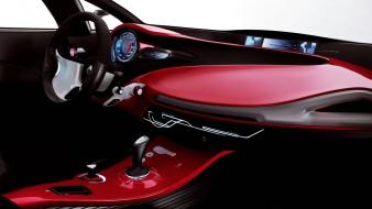 Cars machines interior renault megane vehicles coupe Wallpaper