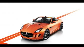 Cars vehicles static jaguar f type 2013 wallpaper