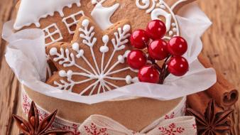 Christmas magic cookies sweets lovely wallpaper