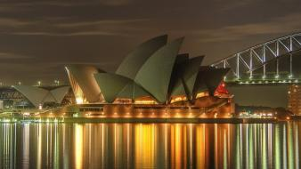 Cityscapes australia sydney opera house wallpaper