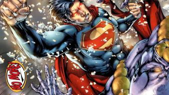 Dc comics superman shattered glass earth one wallpaper