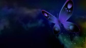 Dreams drowning butterflies wallpaper