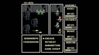 Final fantasy rpg parody aliens retro games nosfyrr wallpaper