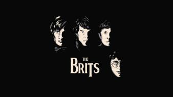 Harry potter the beatles doctor who sherlock bbc Wallpaper
