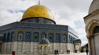 Jerusalem islam mosque palestine dome of the rock wallpaper