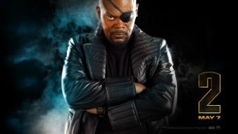 L. jackson nick fury the avengers (movie) wallpaper