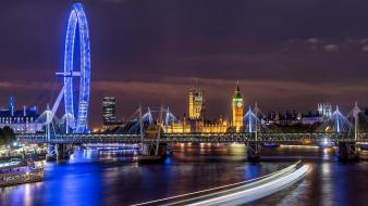 London eye big ben houses of parliament wallpaper