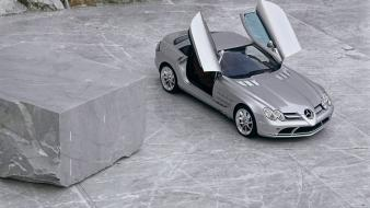 Mercedes-benz doors mercedes benz slr mclaren wallpaper