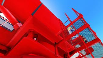 Mirrors edge crane Wallpaper
