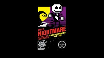Nightmare before christmas retro games nes game wallpaper