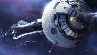 Spaceships mass effect 3 crucible wallpaper