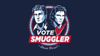 Star wars firefly han solo election smuggler wallpaper