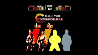 The expendables retro games bit 80s nosfyrr wallpaper