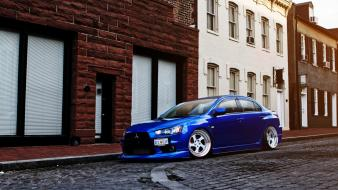 Tuning mitsubishi lancer evo wallpaper