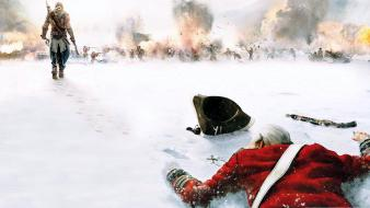 Video games assassins creed iii wallpaper