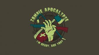 Zombies apocalypse wallpaper