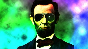 Abraham lincoln presidents Wallpaper