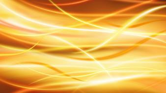 Abstract yellow orange funny wallpaper