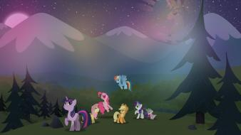 Applejack my little pony: is mane 6 wallpaper