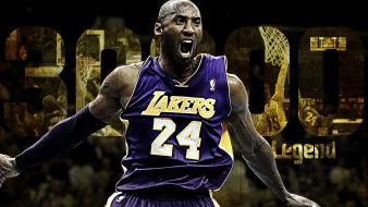 Basketball kobe bryant los angeles lakers player wallpaper