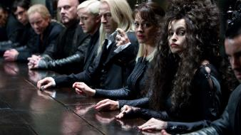 Bellatrix lestrange narcisa helen mccrory death eaters wallpaper