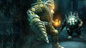 Big daddy bioshock 2 delta Wallpaper