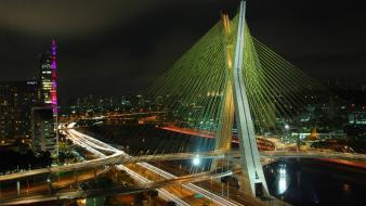 Brazil sao paulo cityscapes city skyline landscapes wallpaper