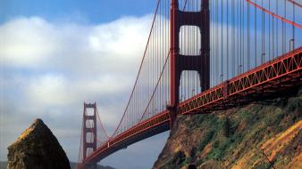 Bridges golden gate bridge california san francisco wallpaper