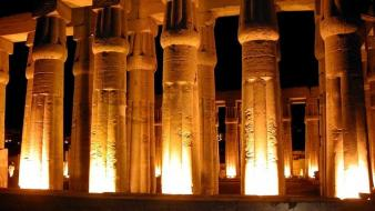 Buildings egypt temple luxor wallpaper