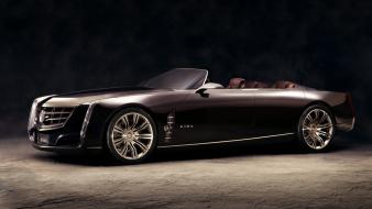 Cars concept art cadillac black ciel wallpaper