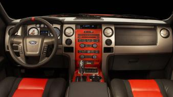 Cars ford interior vehicles f150 svt raptor wallpaper
