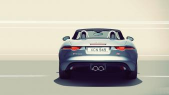 Cars jaguar f-type wallpaper
