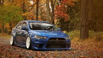 Cars mitsubishi lancer evolution wallpaper