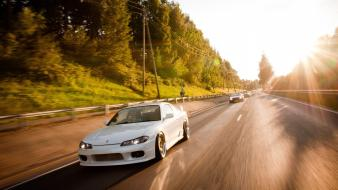 Cars vehicles nissan silvia s15 jdm wallpaper