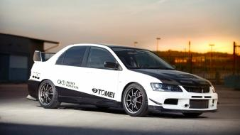 Cars vehicles tuning mitsubishi lancer evolution viii wallpaper