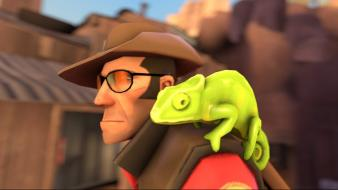 Charmeleon team fortress 2 sniper 3d tf2 wallpaper