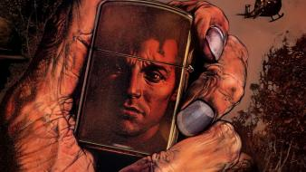 Comics hands zippo artwork preacher vertigo lighter Wallpaper