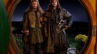 Dwarfs the hobbit brothers bag end kili fili wallpaper