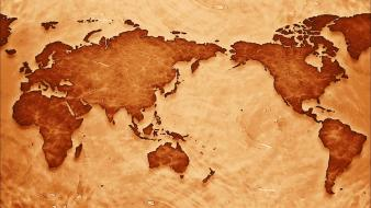 Earth maps world map Wallpaper