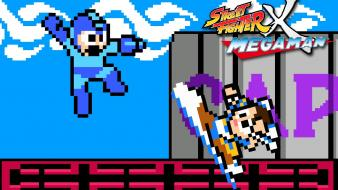 Fighter capcom pixel art chun-li rockman megaman Wallpaper