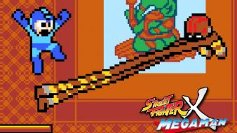 Fighter capcom pixel art rockman dhalsim megaman wallpaper