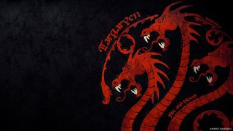 Fire sigil fan art hbo house targaryen wallpaper