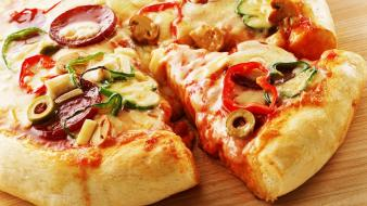 Food pizza wallpaper