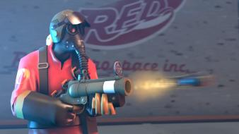 Games pyro tf2 team fortress 2 3d wallpaper