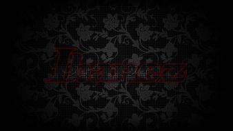 Guitars brands floral ibanez eyefinity wallpaper