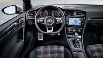 Interior concept art volkswagen golf gti Wallpaper