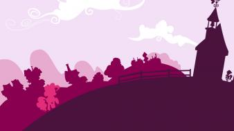 Little pony: friendship is magic pinky ponyville wallpaper